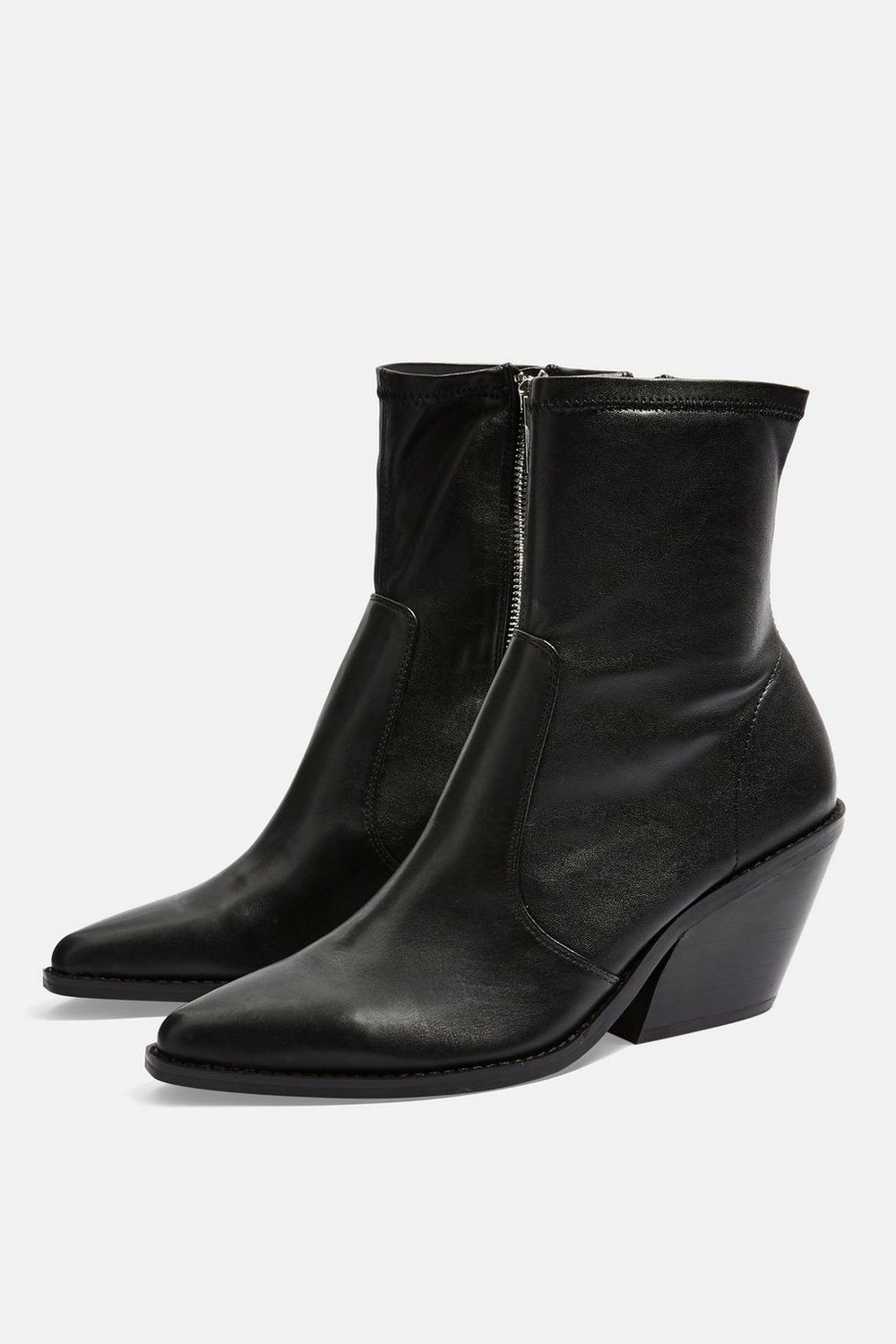 "Topshop ""Mission"" Western Boot"