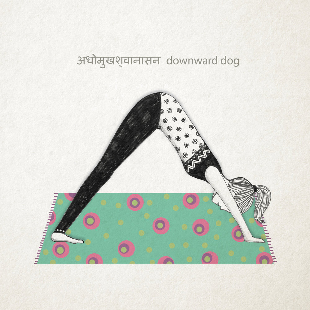Downward Dog Pose