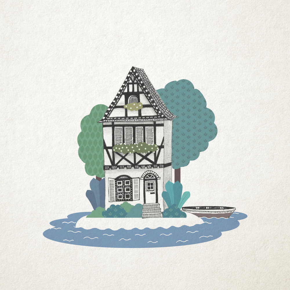 """All I need is a quaint summer house on a tiny island. And wifi."""