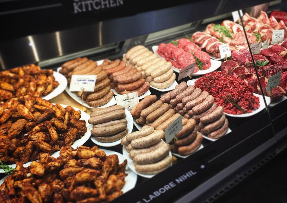 THE DELI CASE From house-made to Devil's Gulch to Hudson Valley, our deli counter is full of fine cuts and choice meats. Swing by and grab some Chianina beef by the pound or an entire Porchetta for your next grill out.