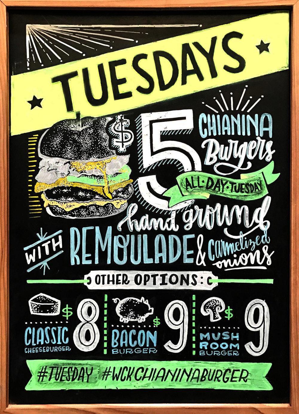 WCK $5 Burger