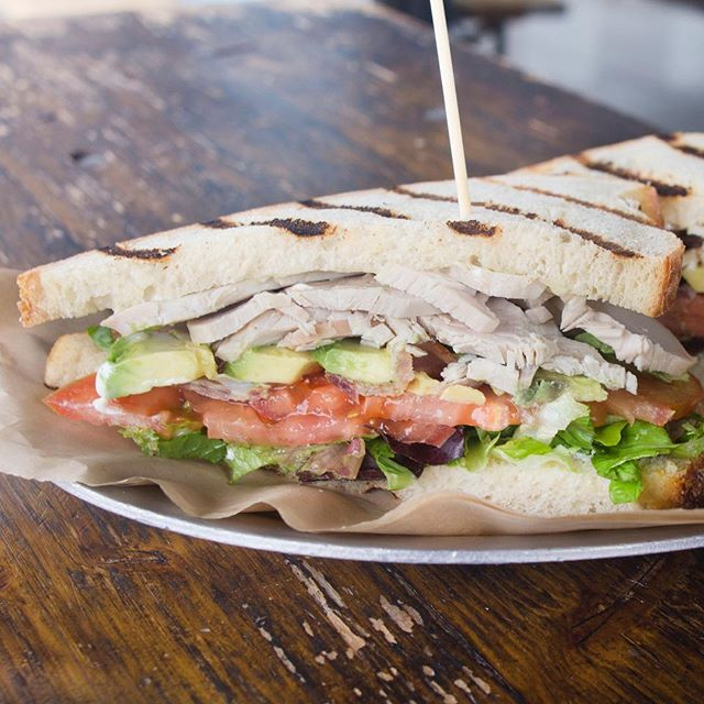 Our Turkey Club is back this weekend and it's better! The perfect veggie stacked sandwich for all our health nuts.  1322 Coronado Ave | OPEN Tues-Sun 11AM - 7PM . . . . . . . . . . #happyhour #lunchspecial #longbeachfood #longbeachstuff #reasonstolovelongbeach #lbc #longbeachcity #turkeyclub #farmstand59