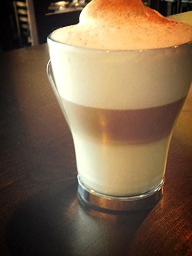 Cafe Latte @ Lucila's Restaurant