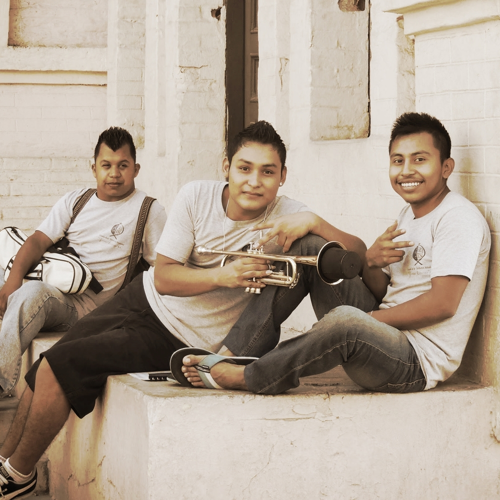 smiling boys in mazatlan