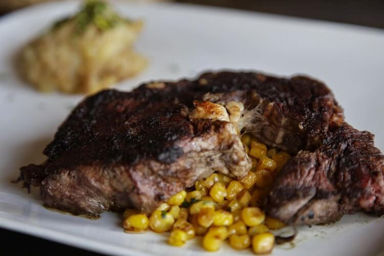 Rib Eye with Corn Esquite
