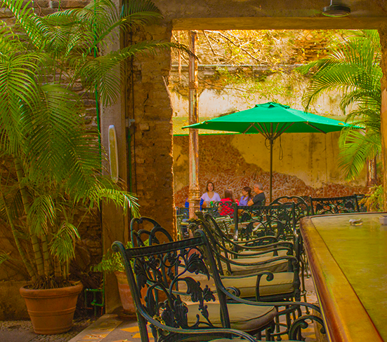 Courtyard at El Presidio | Photo: El Presidio