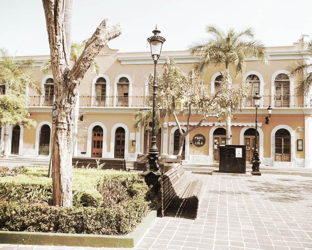 plaza machado mazatlan mexico