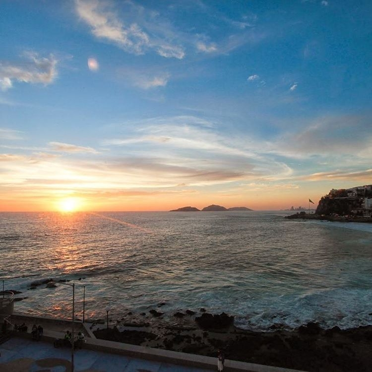 sunset in mazatlan