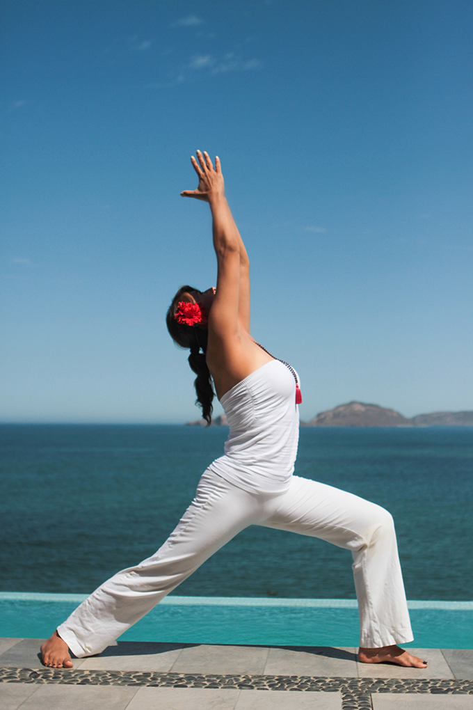 yoga pose mazatlan