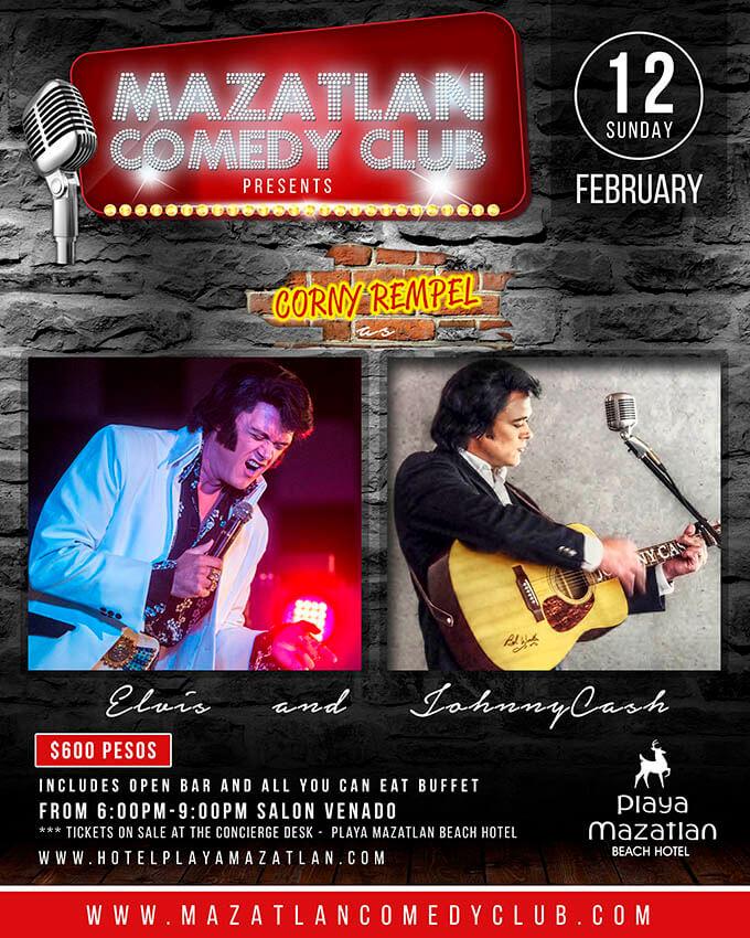 february comedy club