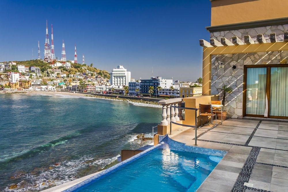 Mazatlan boutique hotel view