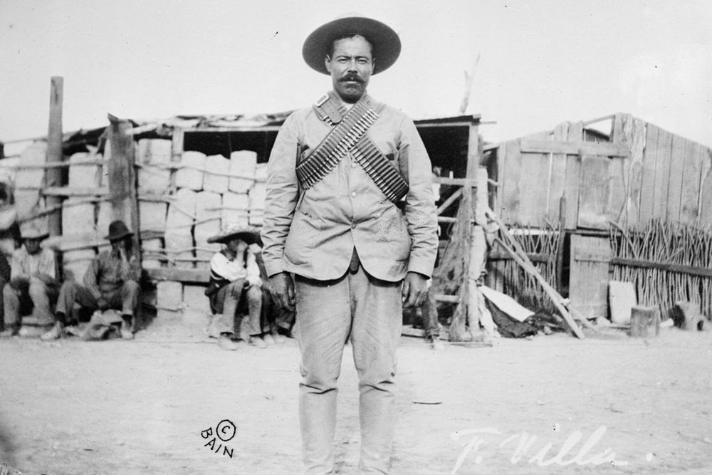 Pancho Villa. By Bain News Service, publisher. Photographer is unknown. Public domain.