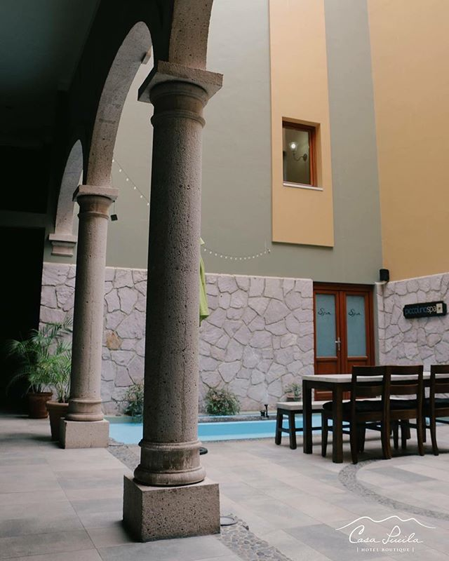One of our favorite spots from Casa Lucila is the courtyard area. Which one is yours?💕 . . . #casalucila #mazatlan #visitmexico #hotelboutique #photooftheday #instagood #instadaily #peaceful #relaxtime #travelgram #loveit #memories