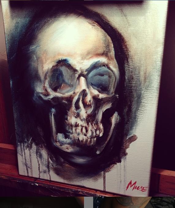 """""""maafa"""" skull"""