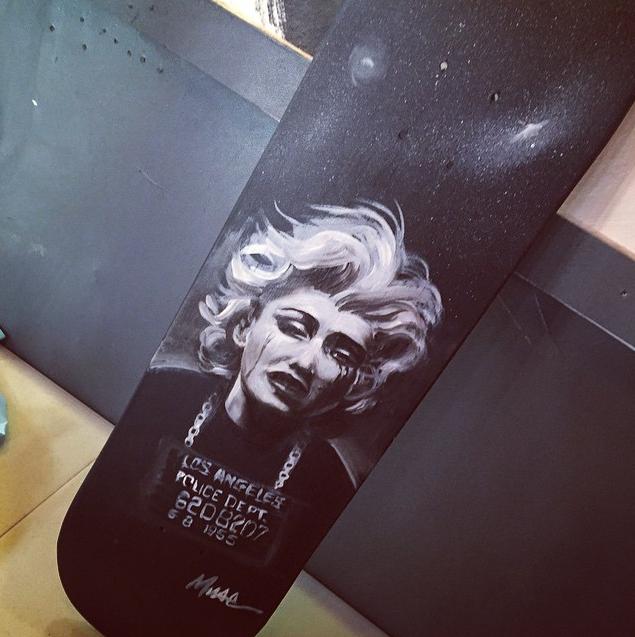 custom Marylin Monroe deck