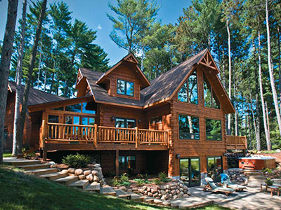Choose From Our Standard Floor Plans Or Our Custom Log Home Design Services