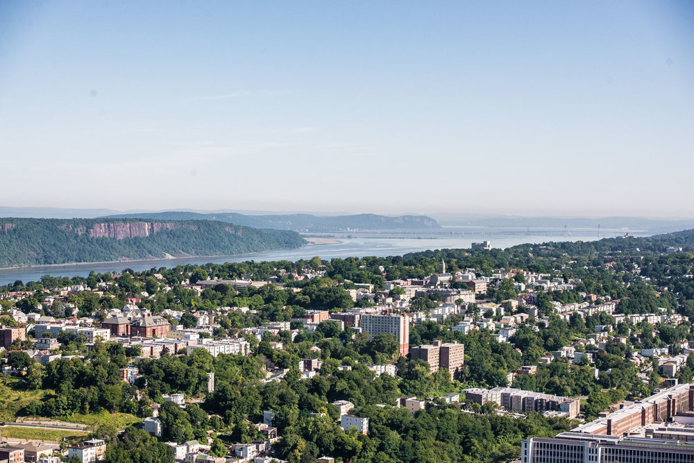 Yonkers, looking towards the Palisades