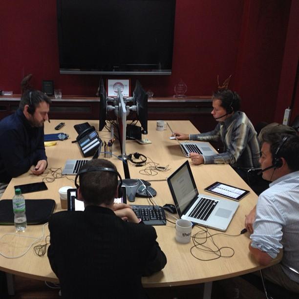 Live from Tileyard Studios