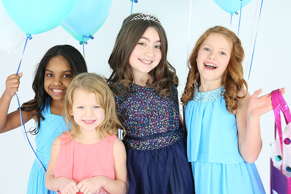 Call/email us to get for information on how to have a custom birthday party at Girls' World!