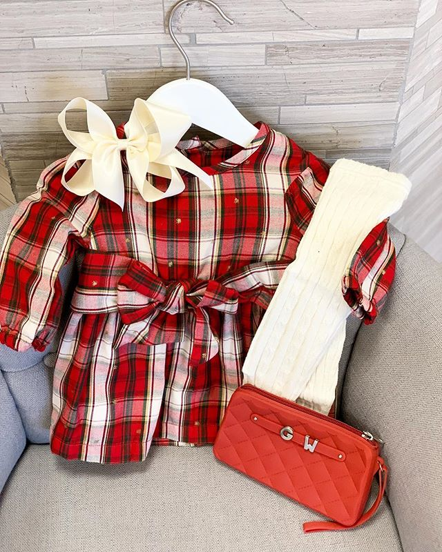 The CUTEST Christmas outfits here at Girls' World . . . . . #ootd #girlclothes #girls #girlsworld #girly #cincy #shopcincy #shoplocal #shopsmall #montgomeryohio #cincinnati #cuteoutfit #cute #baby #babyclothes #babyboutique #cincyboutique #boutique #christmas #christmasoutfit