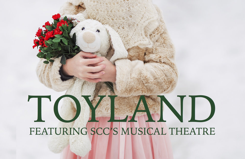 """Please join Dance Discovery Foundation at this years SCC Musical Theatre production of """"TOYLAND""""Sunday December 03,2017 @ 12,1:30, 3:30, 5 &6:30 P.M. Sunday December 10, 2017 @ 12,1:30, 3:30. Tickets: $10"""