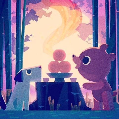 Happy Chuseok!! #chuseok #추석 #일러스트 #동화 #미술 #koreanthanksgiving #korea #illustration #digitalart #bear #dog #moon #trees #forest #festival #food #spirit #animals #nature #kidlitart #childrenswritersguild #artistsoninstagram