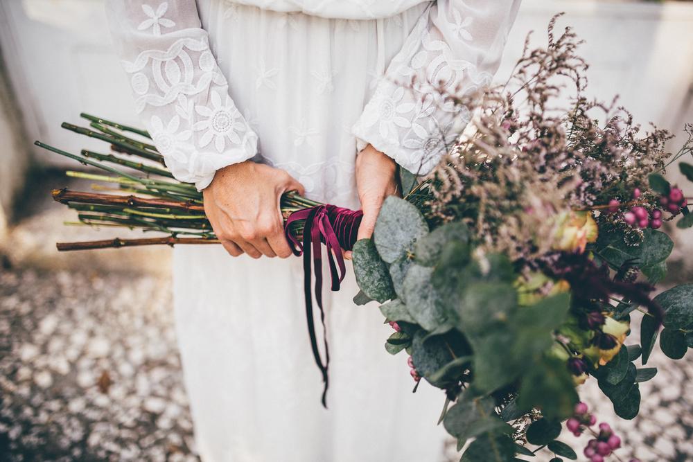 detalle ramo novia