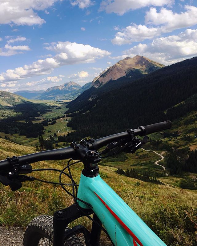 #mountainbikingcolorado #crestedbutte #ridethe401 #401loop #alpinebiking #11000ft #worthit