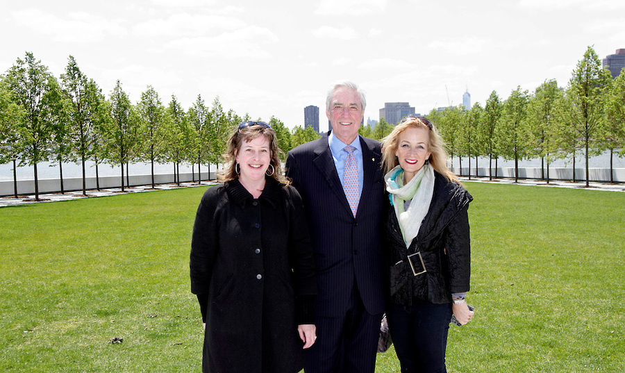 Australian Consul-General Phil Scanlan AM and Mrs. Julie Singer Scanlan touring the Park with Suzy Brown, Director of the Visitor Experience.