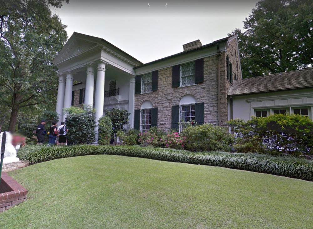 The Graceland, Courtesy Google Streetview