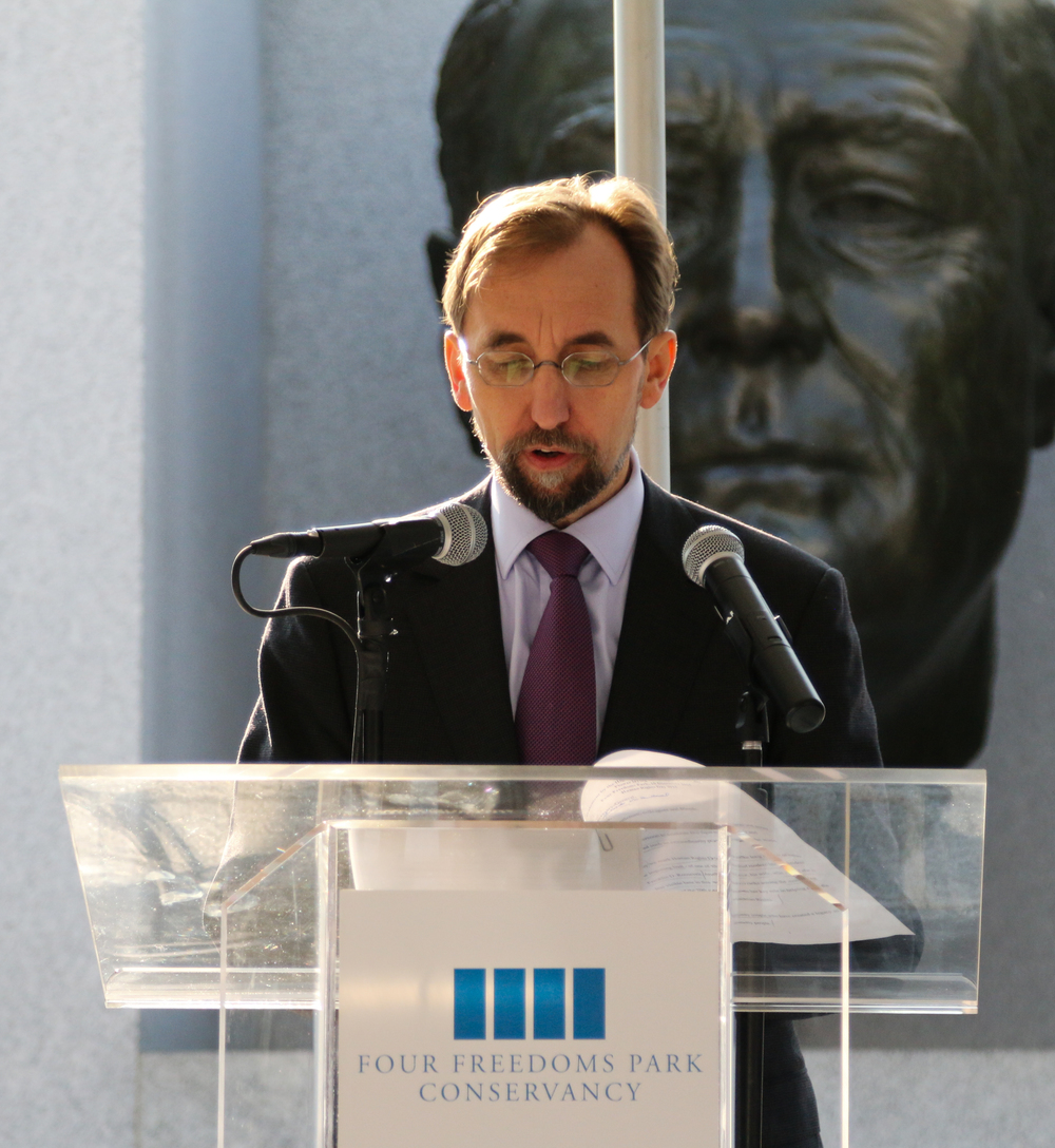 Zeid Ra'ad Al Hussein, UN High Commissioner for Human Rights