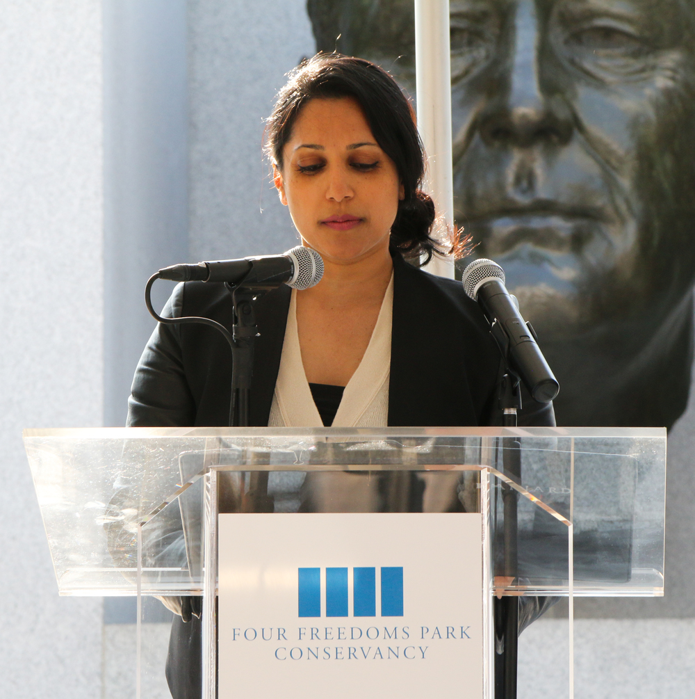 Penny Abeywardena, NYC Commissioner for International Affairs