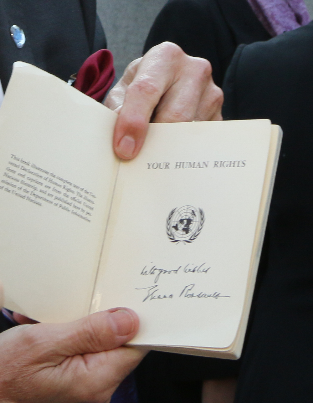 Eleanor Roosevelt's signature