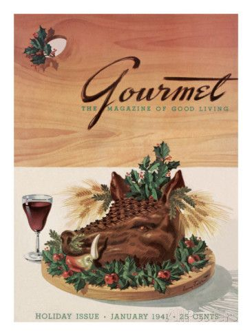 Gourmet Magazine's first issue, published January 1941
