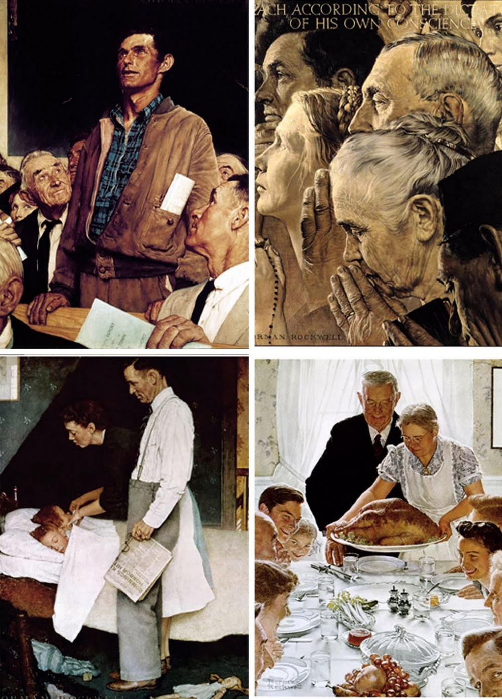 The Four Freedoms, Norman Rockwell
