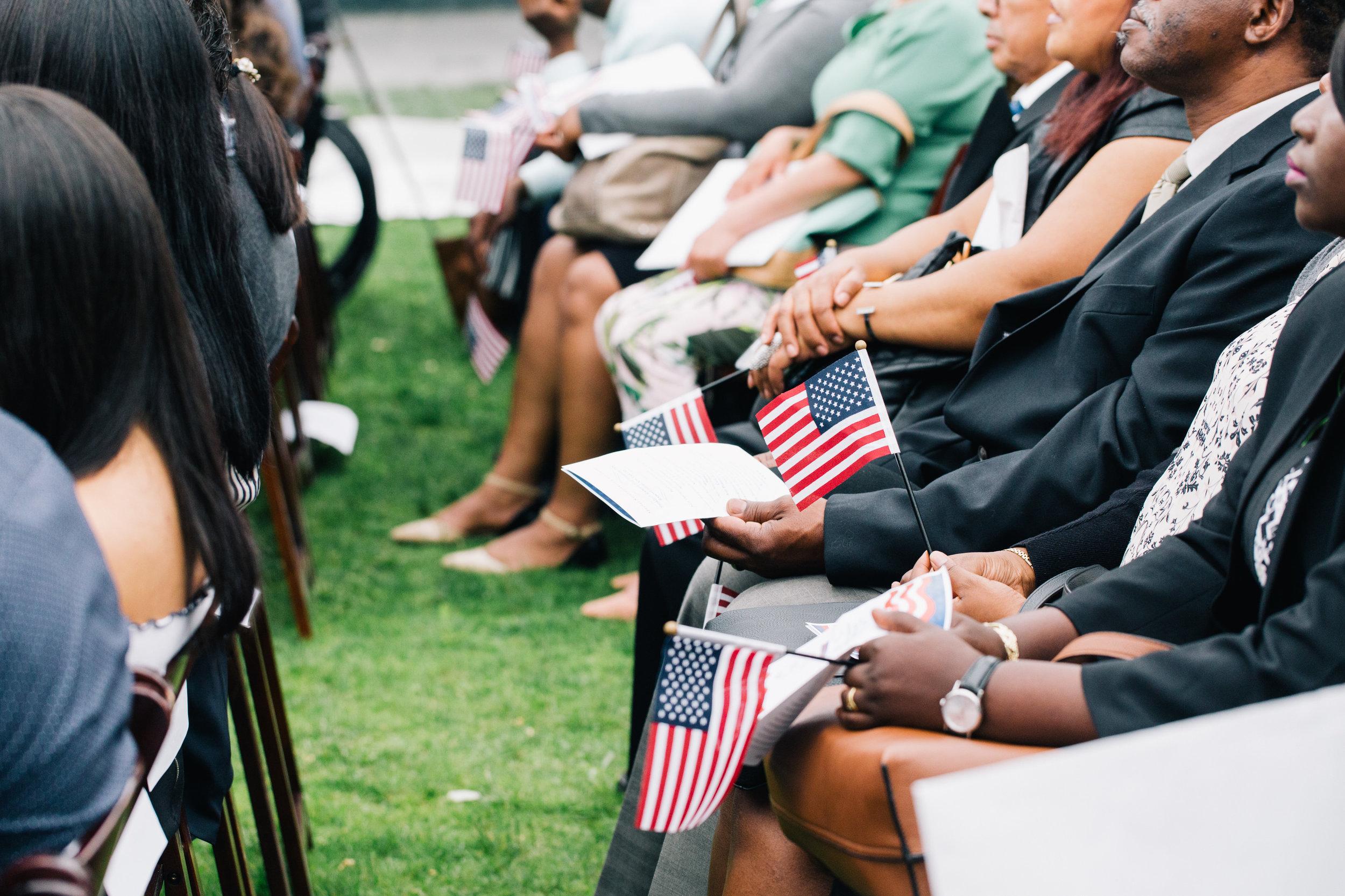 U S  Department of Homeland Security Naturalization Ceremony