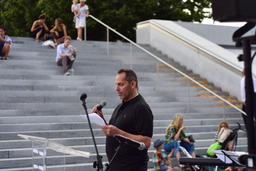FDR Four Freedoms Park CEO Howard Axel.