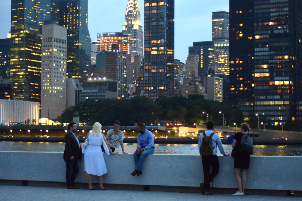 The location of the Park offers unparalleled views of both Manhattan and Queens.
