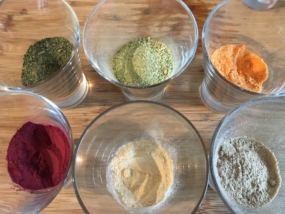 veggie powders; a colourful, sneaky way to get more vegetables into the family