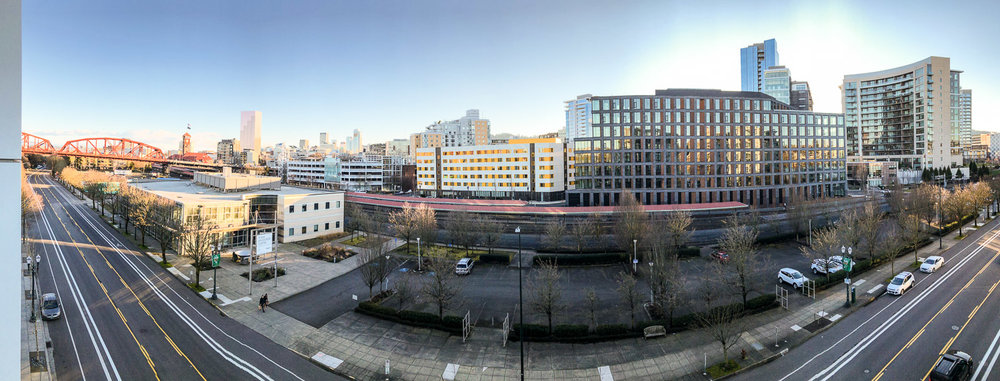The view from 1260 NW Naito Parkway Unit 6B, Portland, Oregon