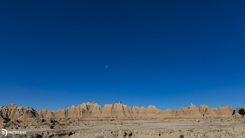 We hiked a couple of trails to see just a little more of The Badlands before heading west.
