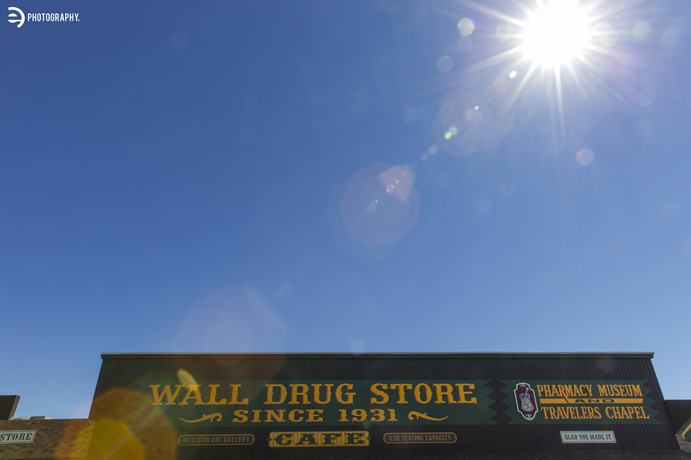 What is a trip to South Dakota without stopping at the world-famous Wall Drug?