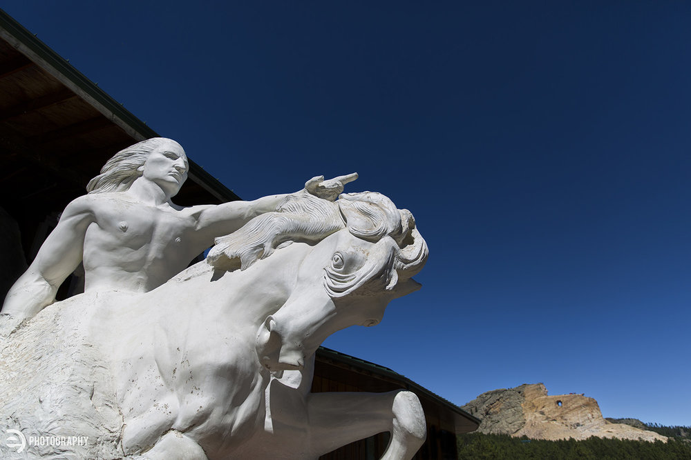 When finished, the Crazy Horse monument should be breathtaking.