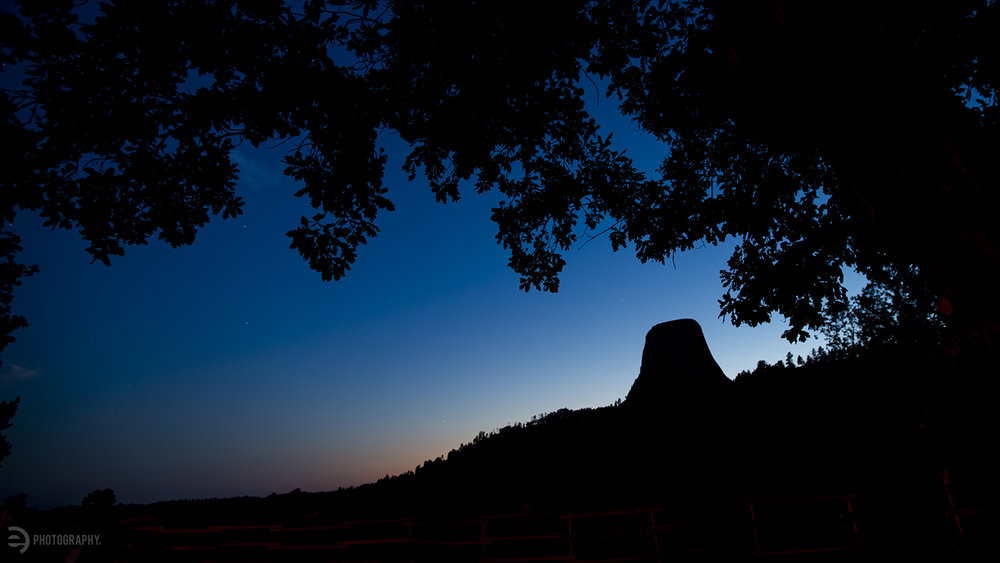Blue hour at Devils Tower. After the Badlands shot - I wanted to capture more of this time of day and boy is it worth the extra time and effort!
