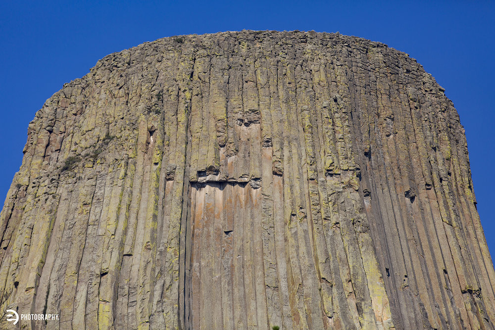 A detail shot of the volcanic rock in the middle of Wyoming.