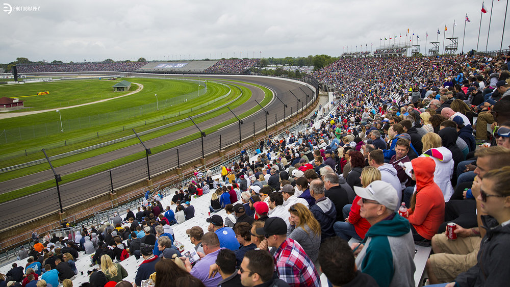 Packed house! More than 60,000 fans came to see the races!