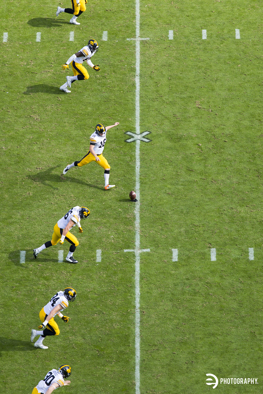 Kickoff after another Hawkeye touchdown!