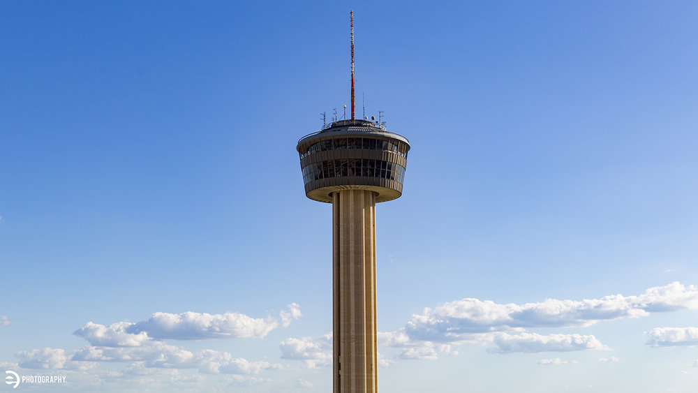 The Tower of the Americas in downtown San Antonio.
