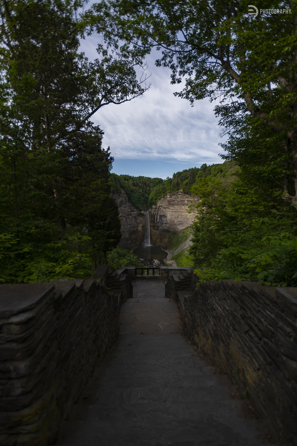 This is Taughannock Falls in Trumansburg. I figured if it was on my way home from Watkins Glen, I might as well stop and take in the beauty!