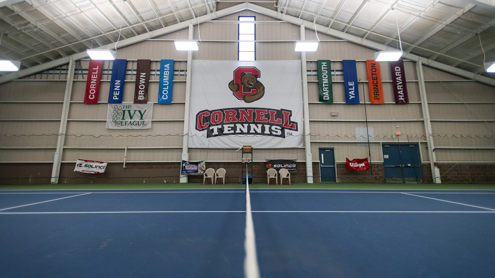 The interior of the Reis Tennis Center